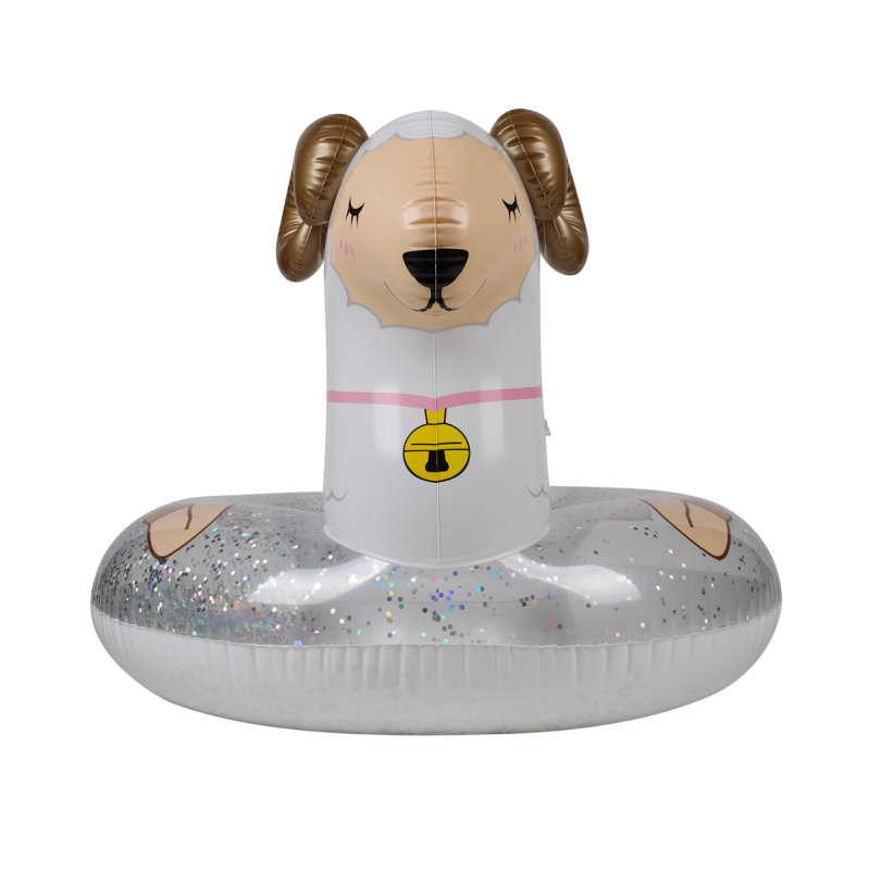Trampoline Deluxe Jump4Fun 13FT - 6 Perches - 400 cm - Rouge