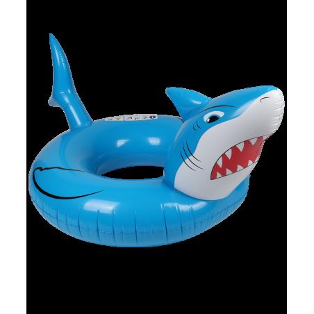 Trampoline de jardin Deluxe Jump4Fun 13FT - 6 Perches - 400 cm - Bleu - Nouveauté 2018 !