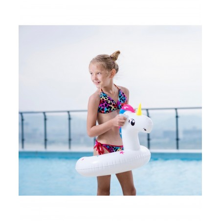 Dimensions Trampoline Deluxe Jump4Fun 13FT - 6 Perches - 400 cm - Vert pomme - Nouveauté 2018 !
