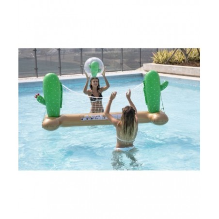 Trampoline Deluxe Jump4Fun 14FT - 6 perches - 427 cm - Rouge