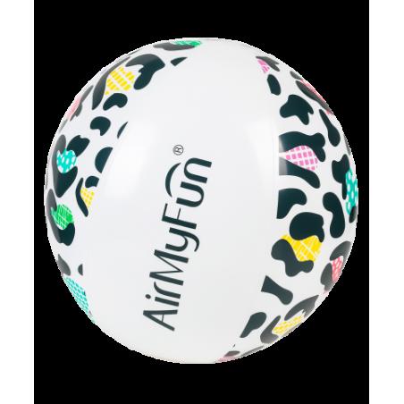 Trampoline de jardin Deluxe Jump4Fun 14FT - 6 perches - 427 cm - Vert pomme