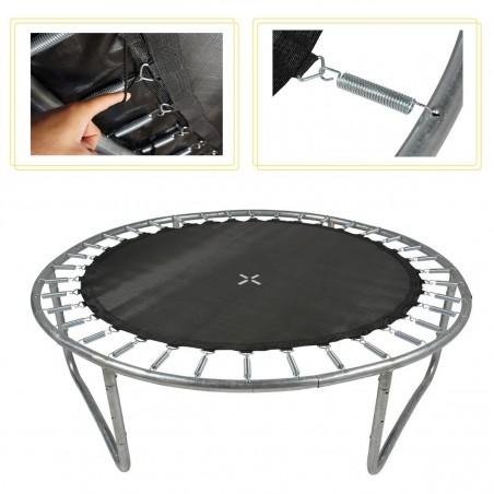 Pied trampoline en acier galvanisé