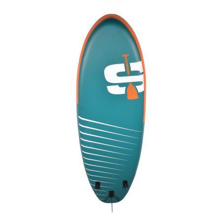Trampoline Deluxe Jump4Fun 12FT-366cm Réversible Bleu-Noir