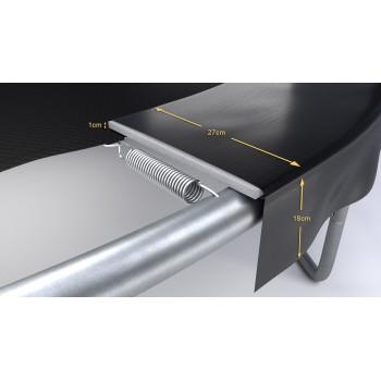 Housse de protection noire mini-trampoline 36'