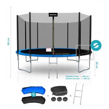 Pack de 6 Protections de Tubes pour Trampolines 8FT - 244cm
