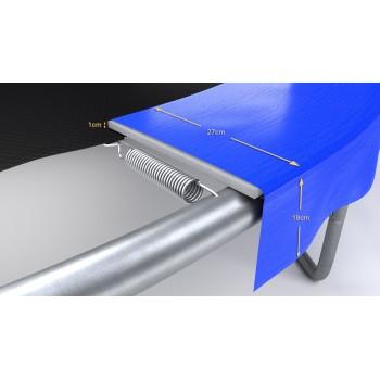 Pack de 6 Mousses de protection des Perches - Trampoline - 10FT - 305cm - Bleu