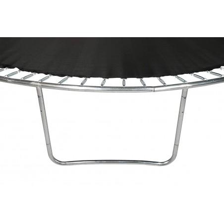Trampoline Luxury Rectangle - 244 x 366cm Noir