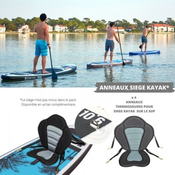Mini Trampoline Fitness Jump4fun T-Bar 92cm Rouge