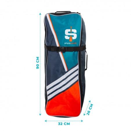Angle Trampoline Rectangulaire Jump4Fun - Noir - 10 x 17FT - 518cm