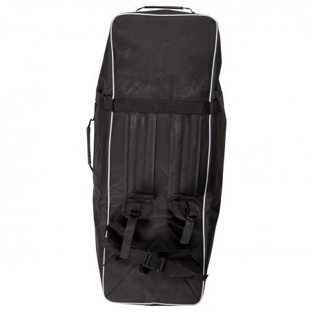 Trampoline Jump4Fun de jardin 12FT - 10 Perches - 366cm - Rouge