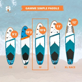 Mini Trampoline Fitness Jump4fun Double-Bar Pliable Rouge