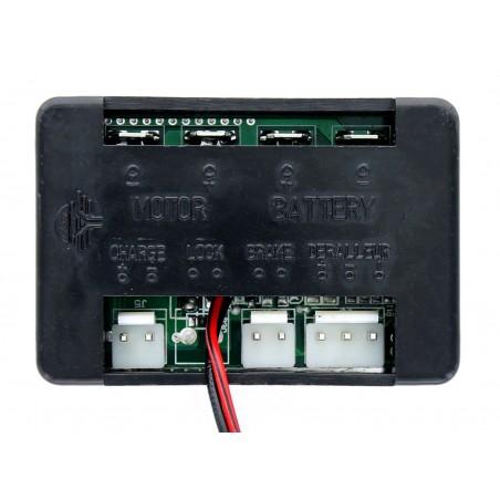 Trampoline jardin noir 185 cm Jump4Fun
