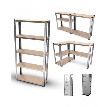 Trampoline avec filet de protection Jump4Fun Deluxe 10FT - 305cm - Rouge