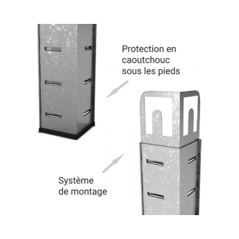 Trampoline Deluxe Jump4Fun 12FT - 10 Perches - 366 cm - Vert pomme