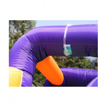 Trampoline Deluxe Jump4Fun 14FT - 12 perches - 427 cm - Vert pomme