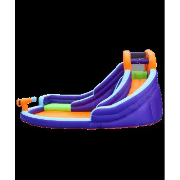 Trampoline Deluxe Jump4Fun 14FT - 12 perches - 427 cm - Vert pomme - Nouveauté 2018 !