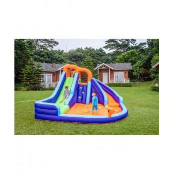Dimensions trampoline Deluxe Jump4Fun 14FT - 12 perches - 427 cm - Bleu - Nouveauté 2018 !