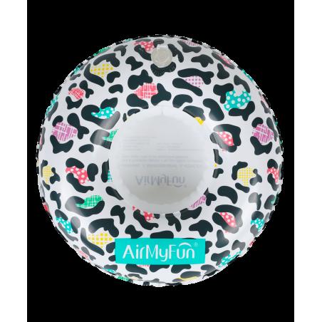 Trampoline avec filet de protection Jump4Fun Deluxe 6FT - 185cm - Bleu