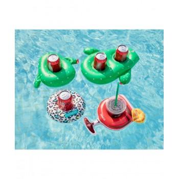 Trampoline avec filet de protection Jump4Fun Deluxe 6FT - 185cm - Orange